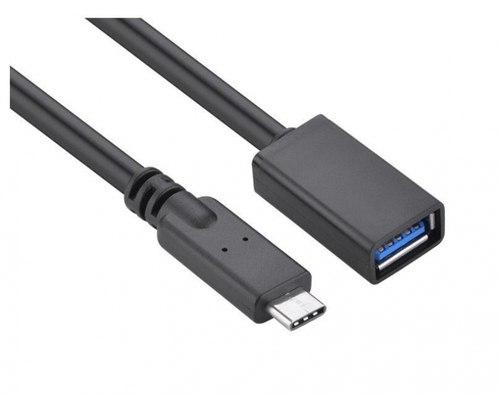 כבל USB-C זכר ל USD3.1-A נקבה 0.2