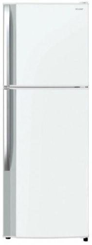 מקרר 2 דלתות מקפיא עליון אינוורטר 315 ליטר Sharp SJ-2131 - לבן