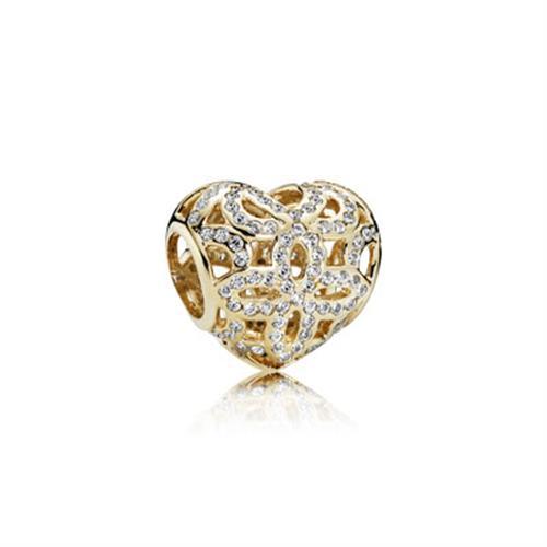 צ׳ארם פנדורה זהב 750837CZ