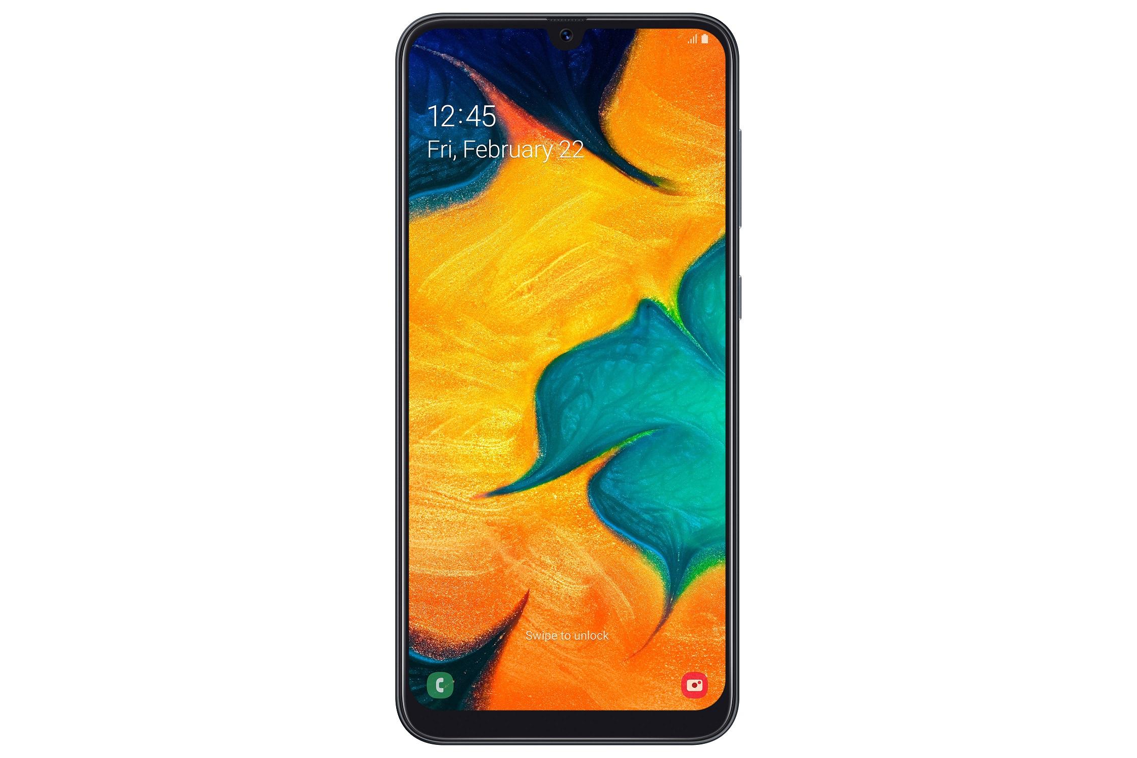טלפון סלולרי Samsung Galaxy A30 SM-A305F 64GB סמסונג