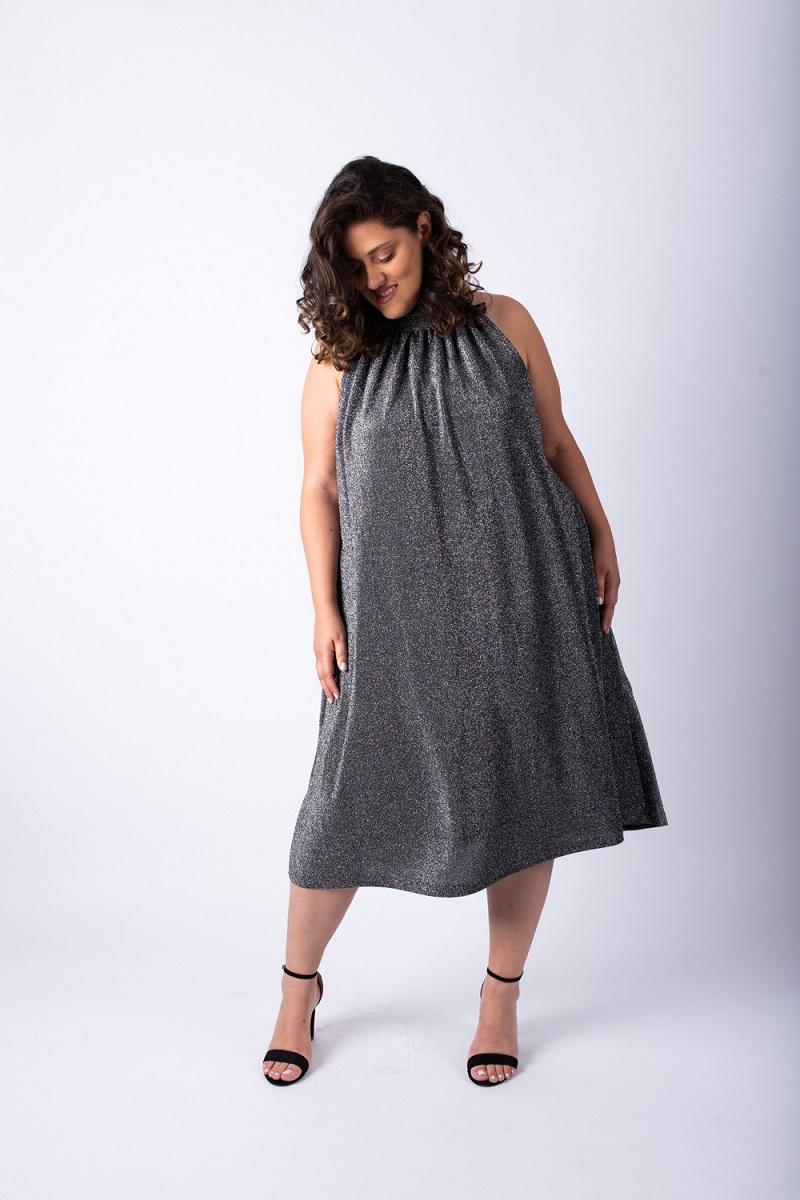 שמלת אליס לורקס כסף