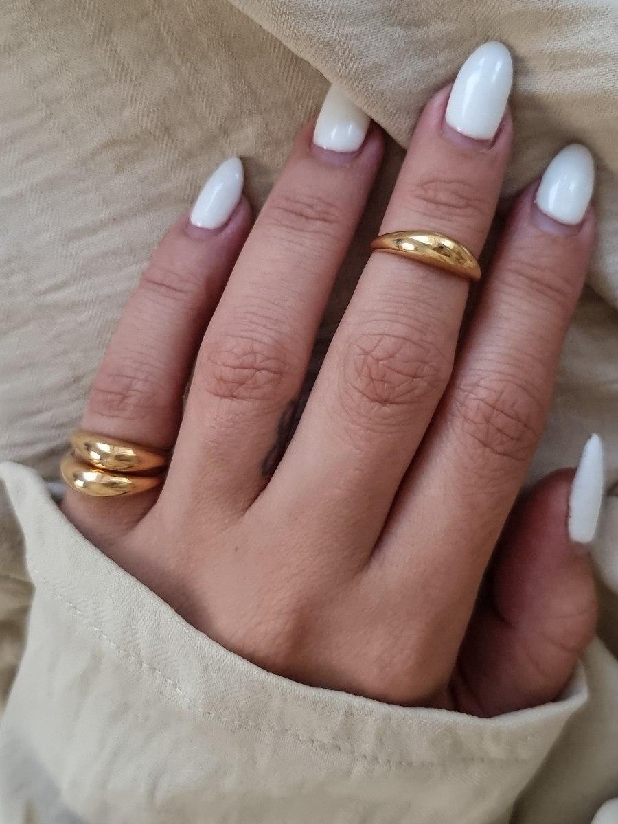 טבעת זהב טל