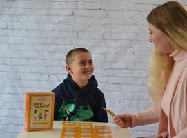 לתת ולקבל משחק קופסה בשפה האנגלית