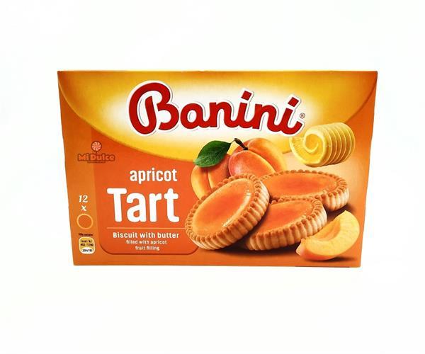Banini עוגיות טארט בטעם אפרסק