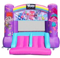 מתנפח הטרולים כולל מגלשה כפולה - Happy Hop  - קפיץ קפוץ