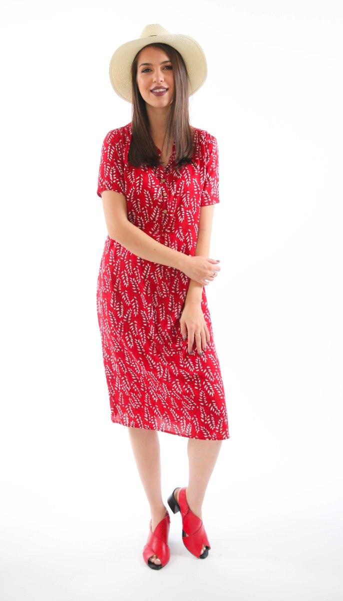 שמלת דניאלה אדומה