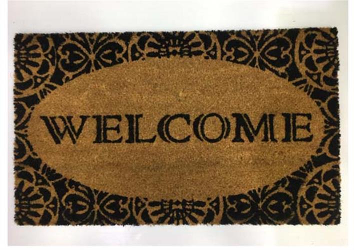 שטיח כניסה לבית -welcome