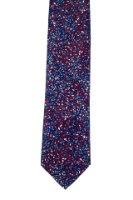 עניבה זיקוקים אדום- כחול