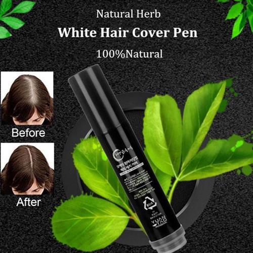 עט הצבע לשיער - הפתרון המהיר לצביעת שיערות לבנות