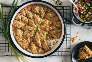 שף BOX להכנת בקלוואה ירקות וגבינות