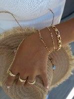 צמיד זהב קים