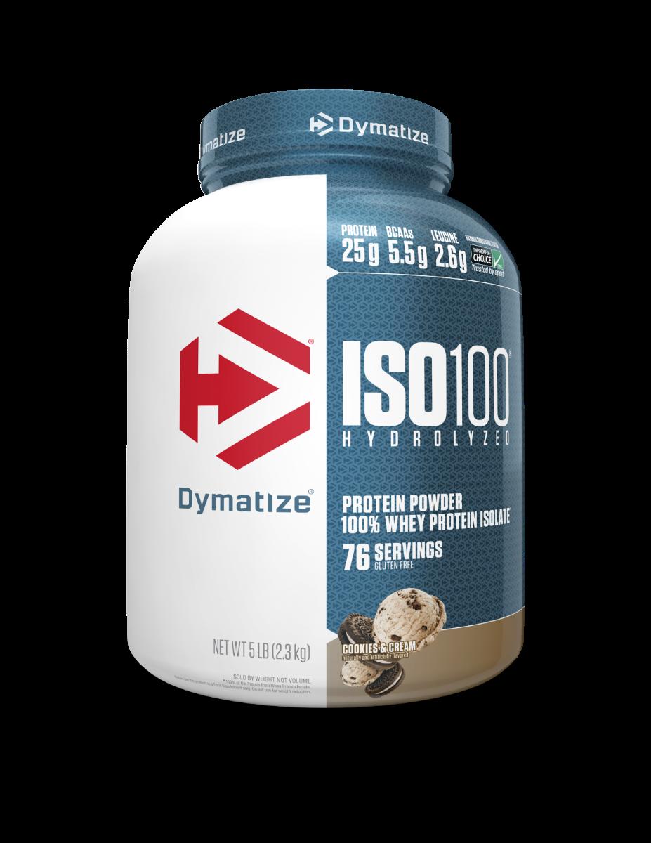 """אבקת חלבון דיימטייז איזו 100 2.3 ק""""ג Dymatize Iso 100"""