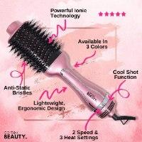 מברשת חשמלית 4 פעולות- ייבוש, עיצוב, סלסול והחלקת שיער רבולושיין- קורטקס CORTEX