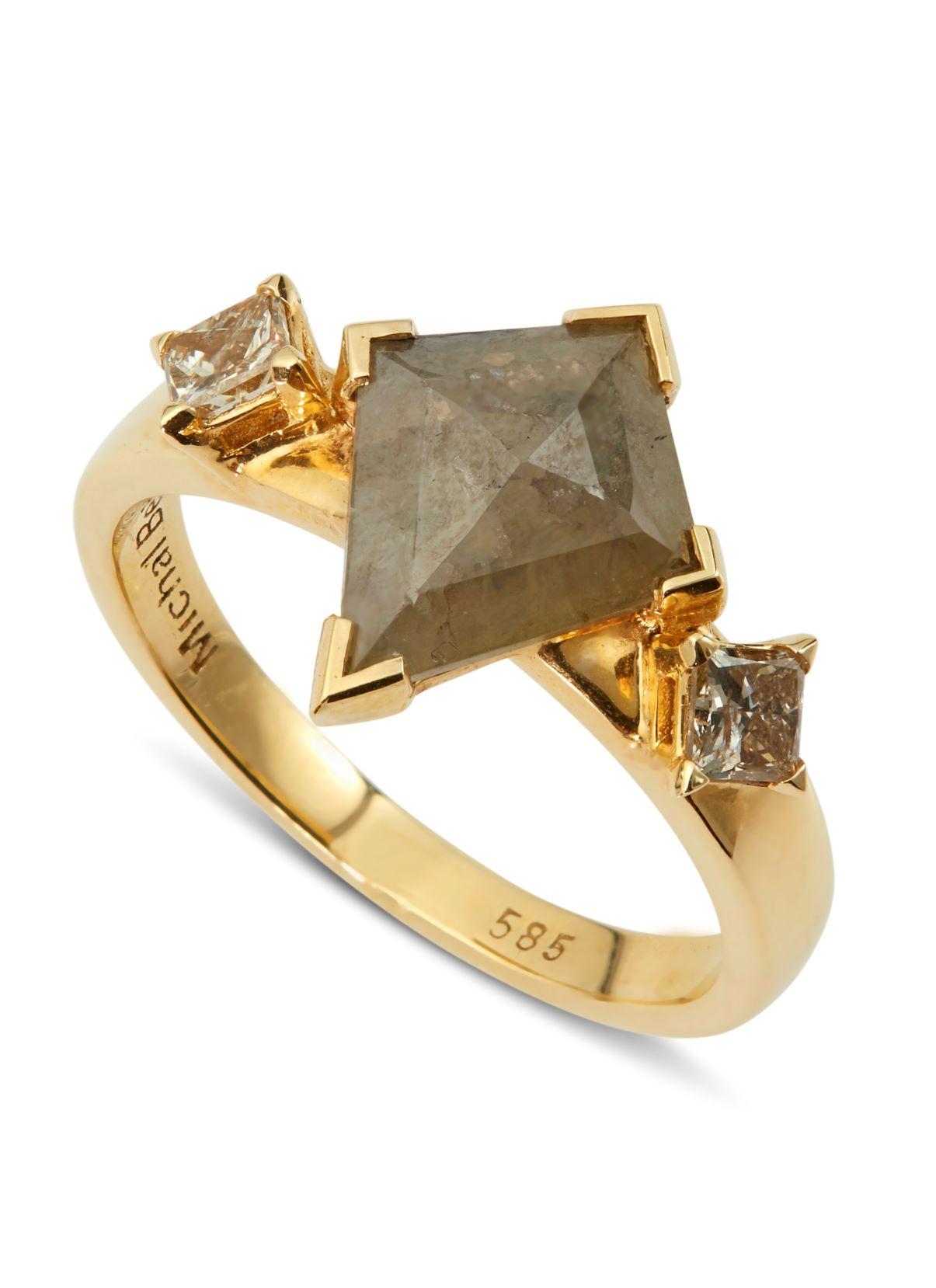 טבעת לורי זהב ויהלומים