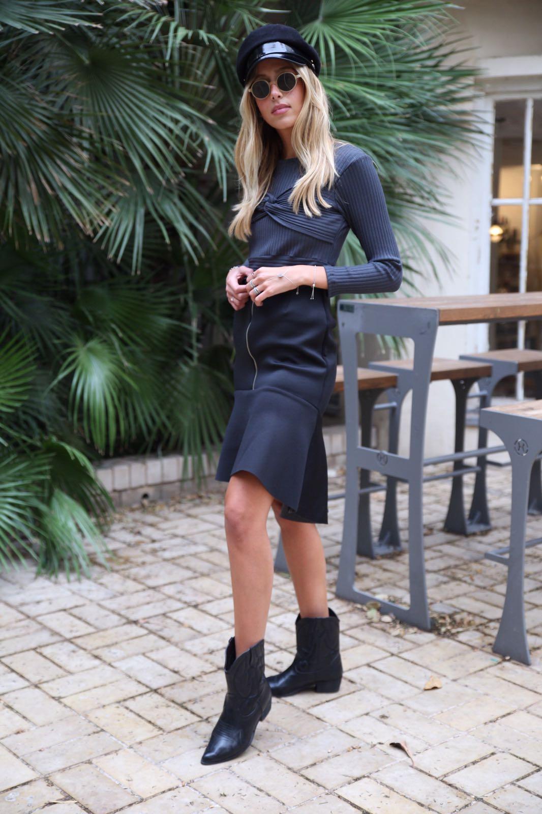 חצאית ניאופרין שחור