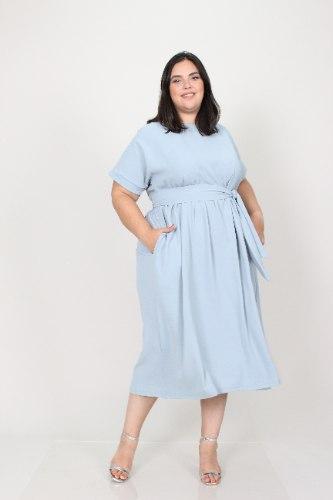 שמלת בריטני תכלת
