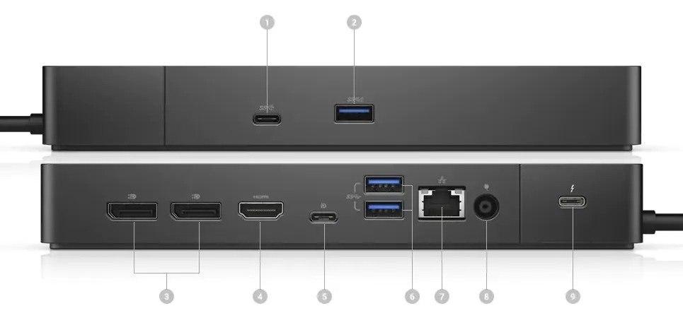 תחנת עגינה למחשב Dell Dock WD19TBS 180W