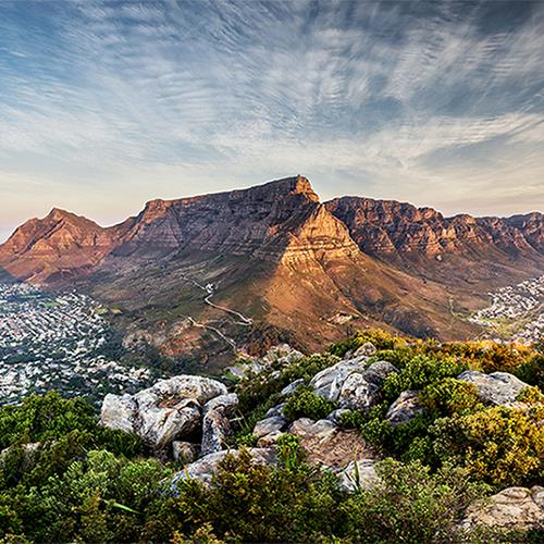 דרום אפריקה - טיול של נופים וטבע