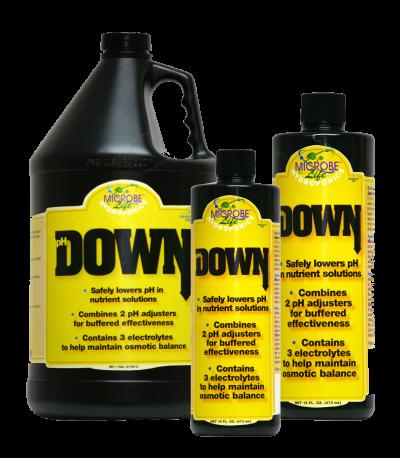 נוזל להורדת חומציות 500 מל MicrobeLife Hydroponics pH Down