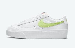 נעלי נשים NIKE BLAZER LOW PLATFORM לבן