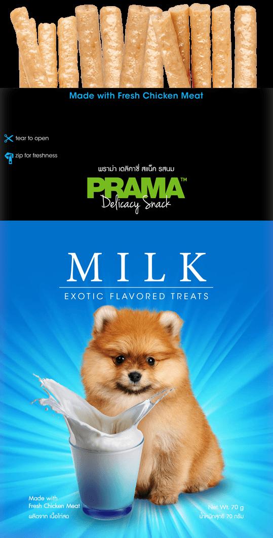 חטיף פרמה בטעם חלב 70 גרם