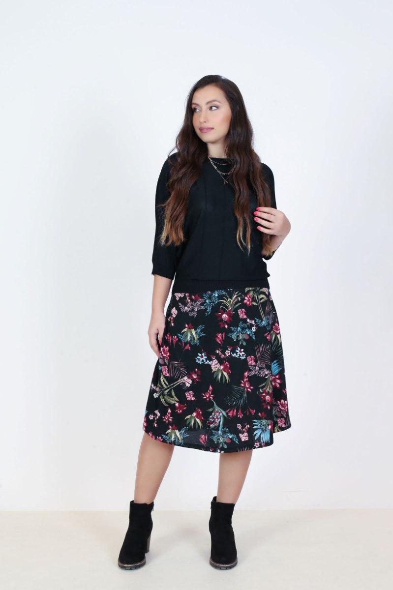חצאית אביב פליז