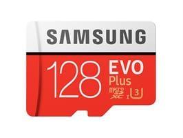 כרטיס זיכרון Samsung MicroSDXC EVO Plus Memory Card Adapter 128GB MB-MC128GA 128GB Micro SD