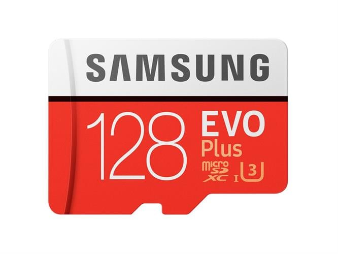 כרטיס זיכרון Samsung MicroSDXC EVO Plus Memory Card Adapter 128GB MB-MC128GA 128GB Micro SD