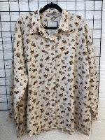 חולצת מיילי קרם פרחוני
