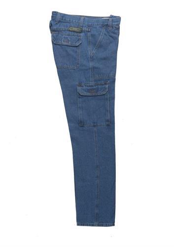 """מכנס דגמ""""ח ג'ינס חגורה"""