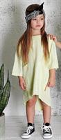שמלת טוניקה ירוק מנטה MOI NOI