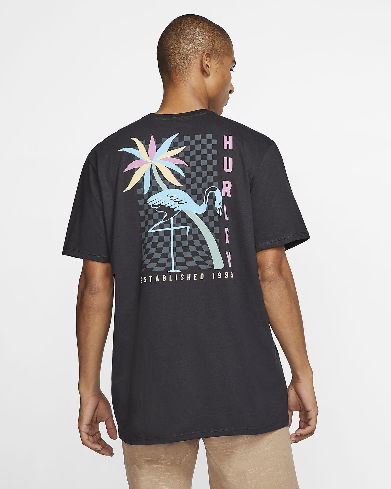 HURLEY MINGOS T-SHIRT - BLACK