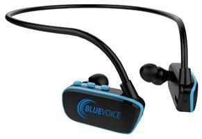 נגן לשחיה MP3 עמיד במים עם קליפ טעינה - Swim MP3 Player Blue-Voice