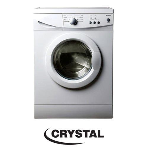 """מכונת כביסה פתח חזית 7 ק""""ג Crystal CRM701001"""