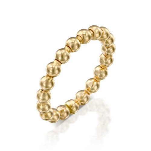 טבעת זהב 14 קרט דגם סוכריות נועה טריפ noa tripp