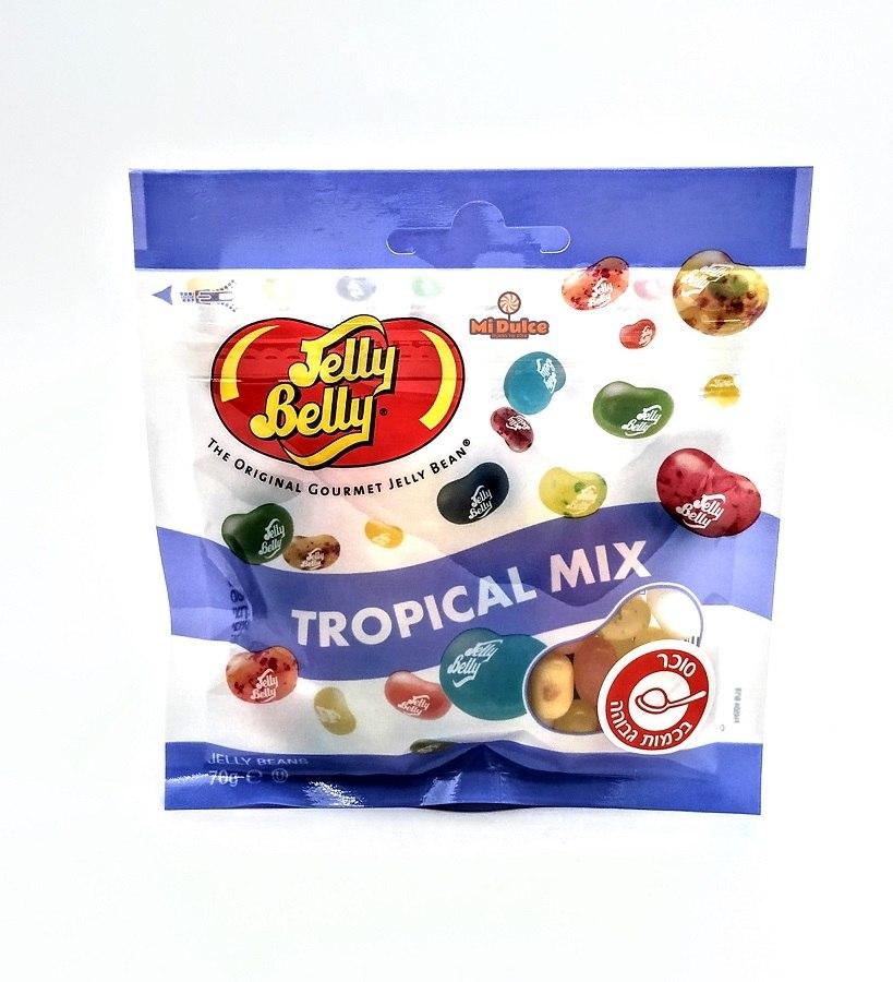Jelly Belly בטעם פירות טרופיים
