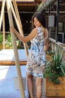 שמלת קמילה הדפס רומנטי