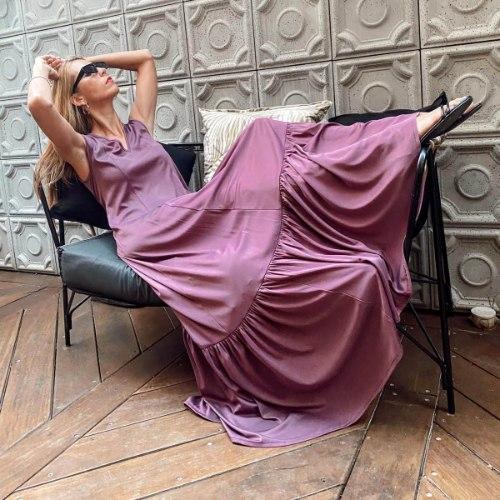 שמלת DANA - סגול