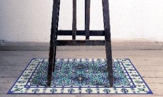 שטיח פי.וי.סי כוכב המזרח TIVA DESIGN קיים בגדלים שונים