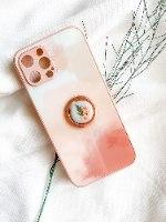 טבעת אחיזה לטלפון- פרחים מיובשים