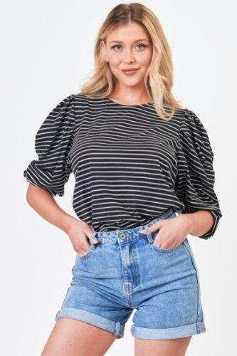 חולצת  אלין פסים