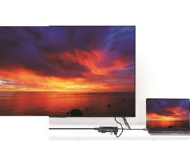 מתאם Type C תחנת עגינה עם חיבורים, HDMI , SD-Micro SD , LAN ,2* USB , Type C