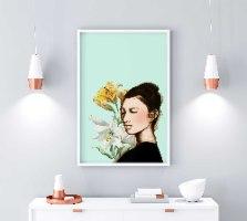 עותק של סאקי פרחונית -הדפס ציור