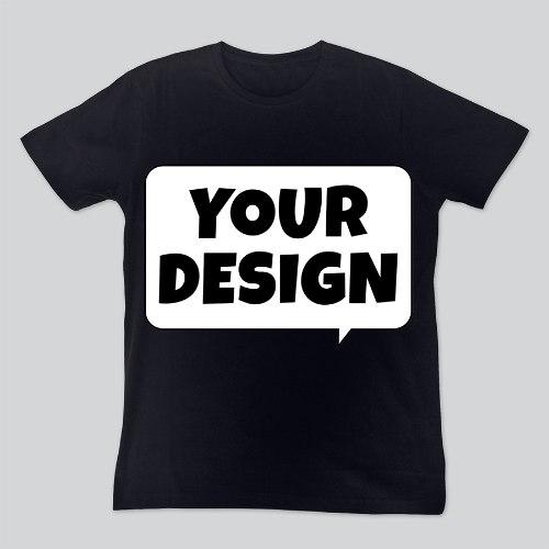 חולצת טי שחורה יוניסקס