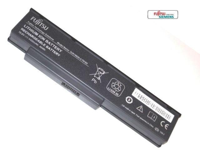 סוללה מקורית למחשב נייד פוגיטסו Fujitsu Amilo Li 3710 / LI 3910 / PI 3560 / PI 3660 Li-Ion Battery SQU-809