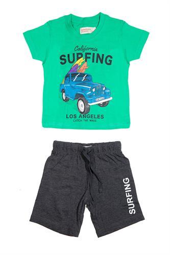 חליפת בנים מכונית