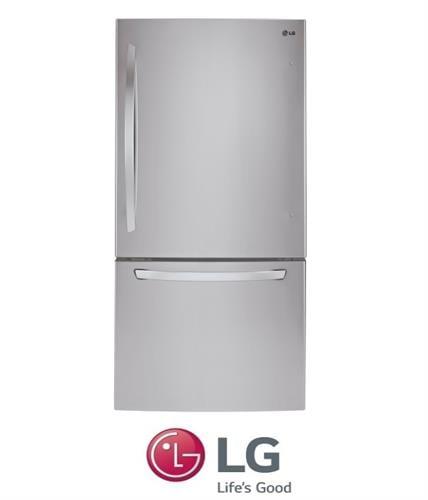 LG מקרר מקפיא תחתון 631 ליטר דגם GM\651RSC נירוסטה