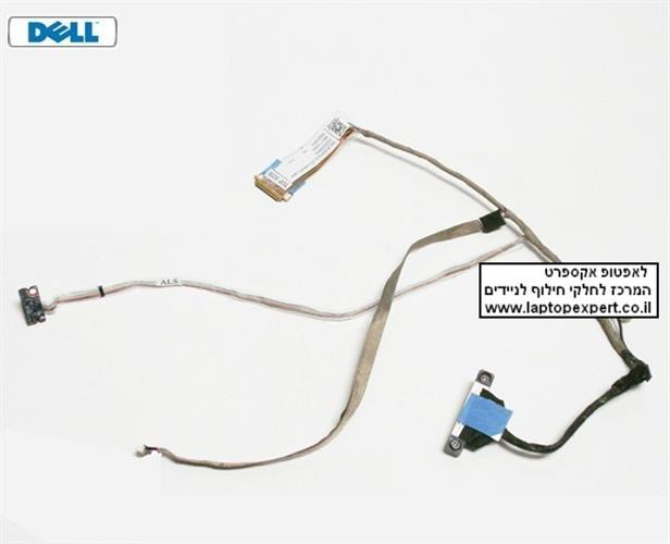 "כבל מסך למחשב נייד דל Dell Latitude E6510 15.6"" Screen LCD Video Cable A09B08 DC02C000H0L"
