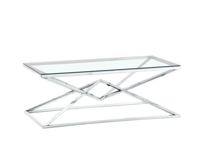 שולחן סלון ניקל