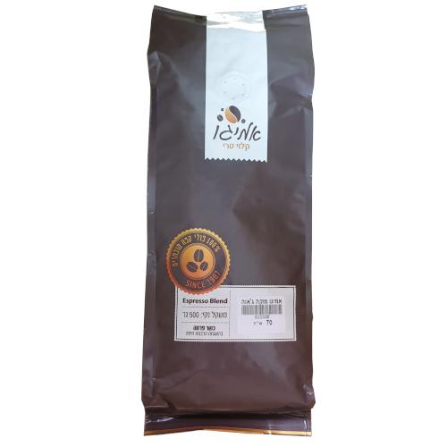 קפה אמיגו מוקה-ג'אוה - Amigo Moka-Java - חצי קילו
